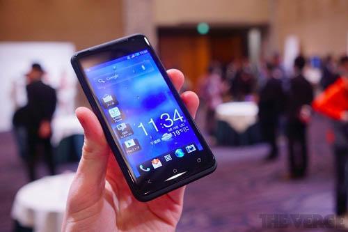 Trên tay HTC J - 2
