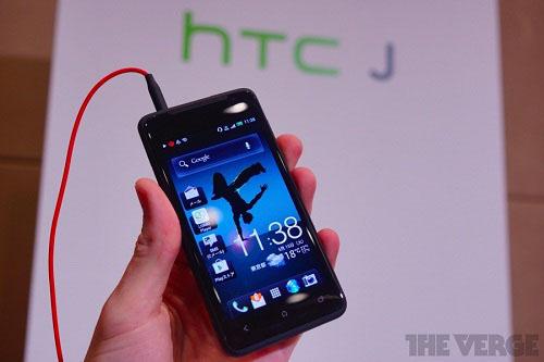 Trên tay HTC J - 9