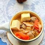 Ẩm thực - Canh đậu hũ thịt viên thơm hương nấm