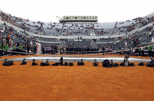 Rome Masters: Thin ng l y, Tennis, Th thao, rome masters, djokovic, nadal, federer, sharapova, madrid masters, roland garros, phap mo rong, tennis, quan vot, the thao, tin the thao, bao the thao