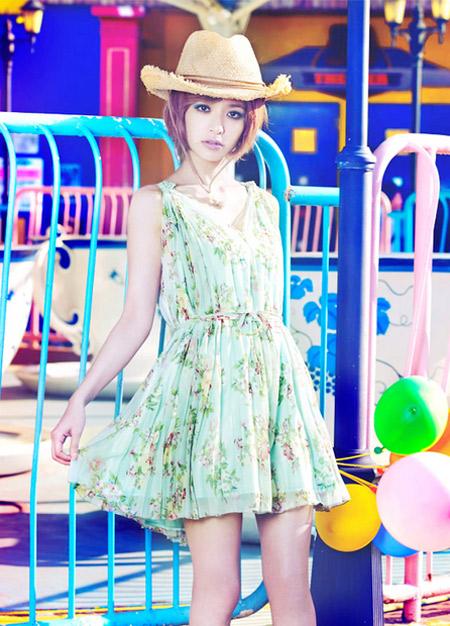Váy xinh cho ngày hè tràn ngập niềm vui - 21