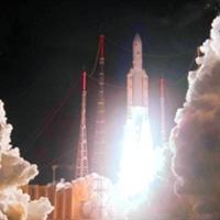 Video phóng vệ tinh VINASAT 2 vào quỹ đạo