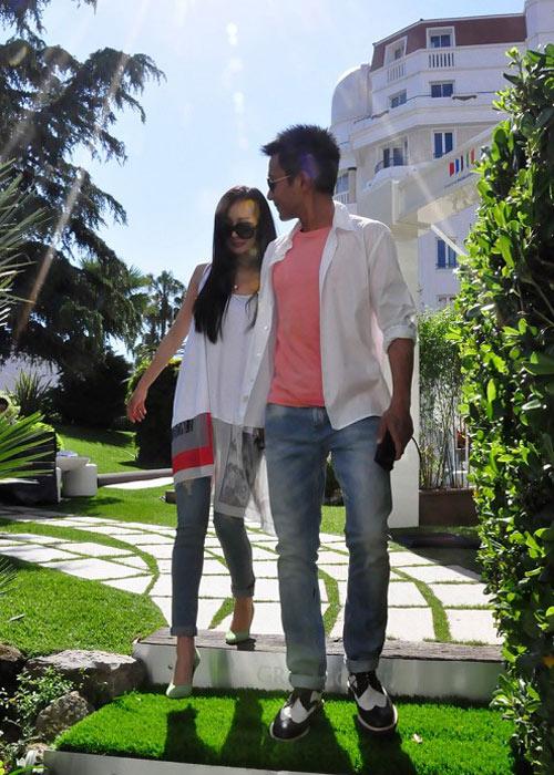 """Phạm Băng Băng mặc """"đồ ngủ"""" tới Cannes - 8"""