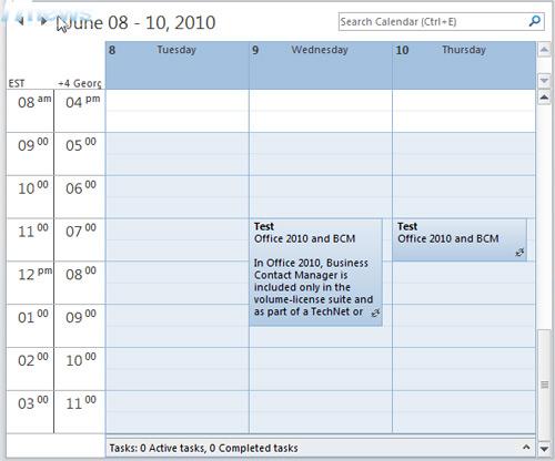 Tự động xem lịch Outlook với Autopreview - 2