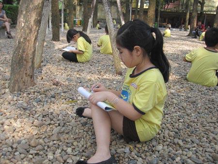 """Chùm ảnh học sinh thực nghiệm """"học như chơi"""" - 4"""