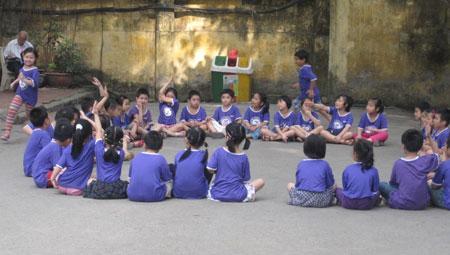 """Chùm ảnh học sinh thực nghiệm """"học như chơi"""" - 1"""