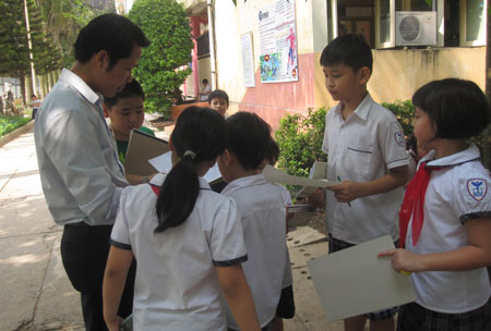 """Chùm ảnh học sinh thực nghiệm """"học như chơi"""" - 11"""