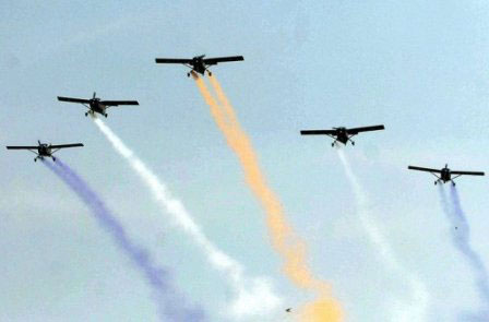 Hai máy bay chiến đấu Pakistan đâm nhau - 1