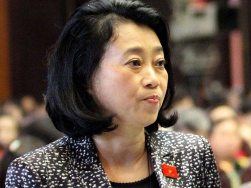 Trình QH bỏ phiếu bãi nhiệm bà Hoàng Yến - 1