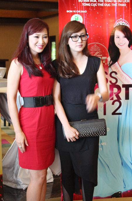 Những gương mặt nổi bật Hoa khôi Thể thao 2012 - 9