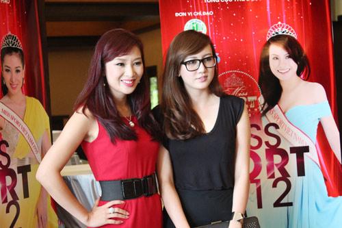 Những gương mặt nổi bật Hoa khôi Thể thao 2012 - 10