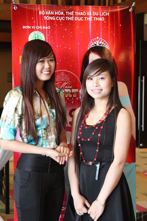 Những gương mặt nổi bật Hoa khôi Thể thao 2012 - 13