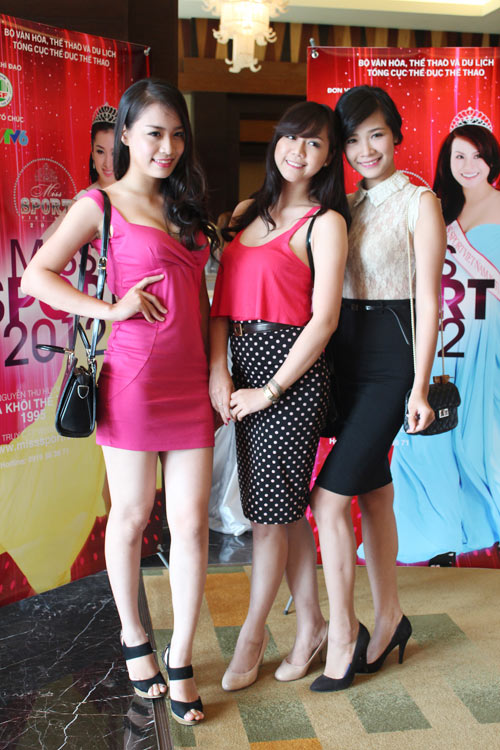 Những gương mặt nổi bật Hoa khôi Thể thao 2012 - 5