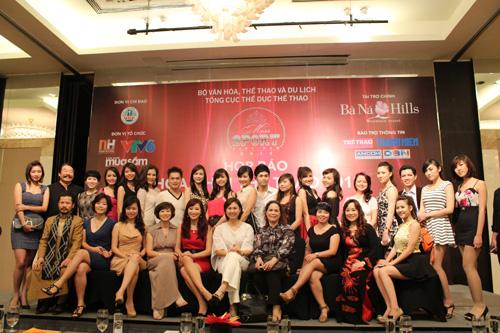 Những gương mặt nổi bật Hoa khôi Thể thao 2012 - 14