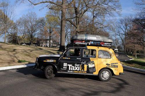 Kỷ lục đi taxi vòng quanh thế giới - 2