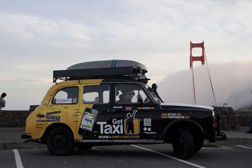 Kỷ lục đi taxi vòng quanh thế giới - 3