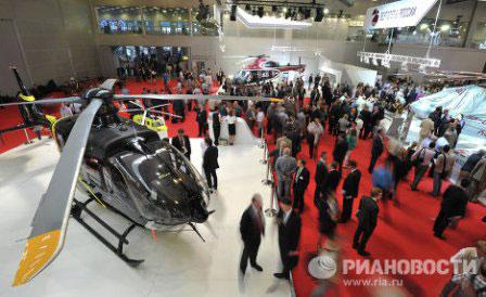 Những trực thăng mới nhất tại HeliRussia 2012 - 1