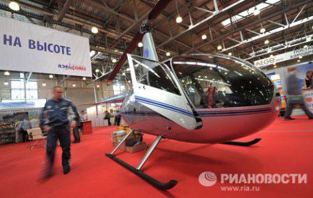 Những trực thăng mới nhất tại HeliRussia 2012 - 3