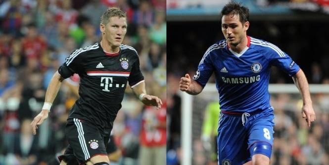 Schweinsteiger- Lampard: Cuộc chiến người lái tàu - 1