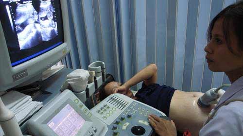 Bỏ thai không thể dựa vào siêu âm - 1