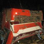 Xe khách gặp nạn bị nổ bình thắng hơi