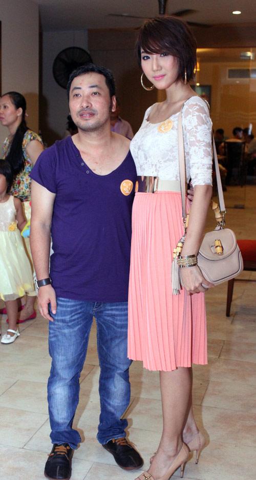 """Phút """"xì tin"""" của siêu mẫu Thanh Hằng - 13"""