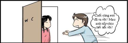 """Khi chồng quá """"bức xúc"""" - 6"""