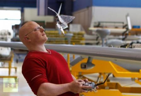 """Israel phát triển """"bướm"""" do thám - 2"""