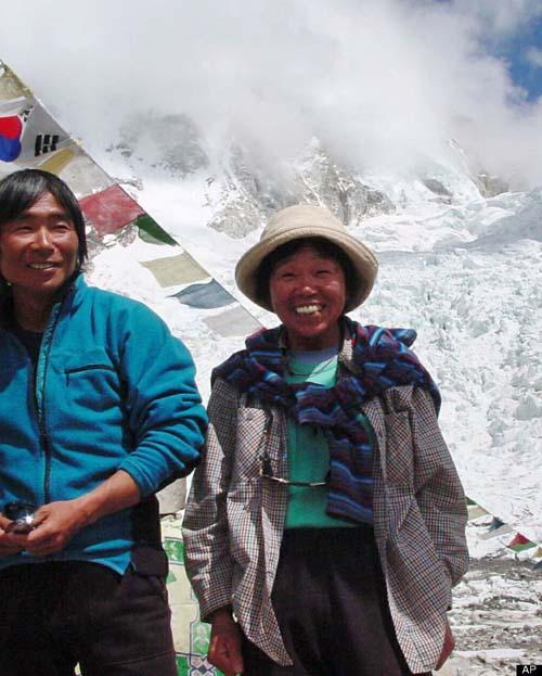Bà cụ 73 tuổi chinh phục đỉnh Everest - 1