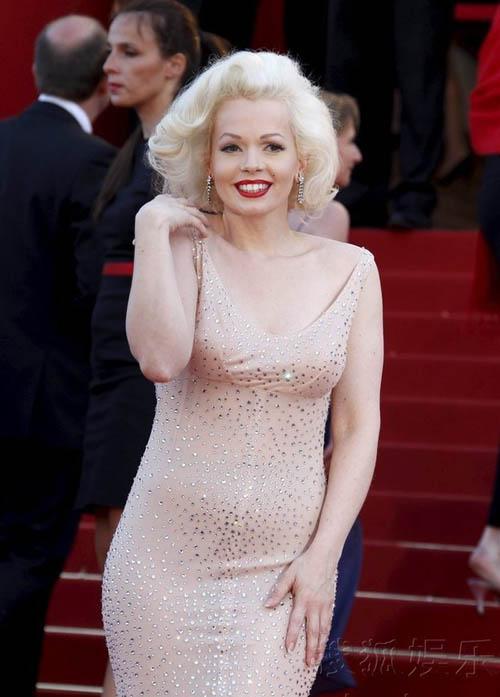 """""""Biểu tượng sex"""" hiện thân tại Cannes - 1"""