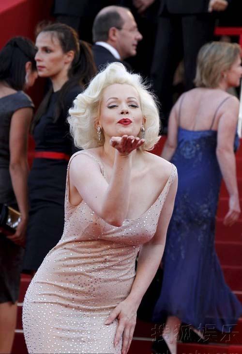 """""""Biểu tượng sex"""" hiện thân tại Cannes - 5"""