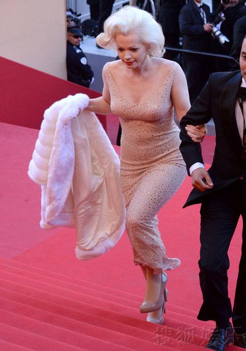 """""""Biểu tượng sex"""" hiện thân tại Cannes - 2"""