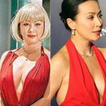 Thời trang - Sao Hoa ngữ càng có tuổi càng hở táo bạo