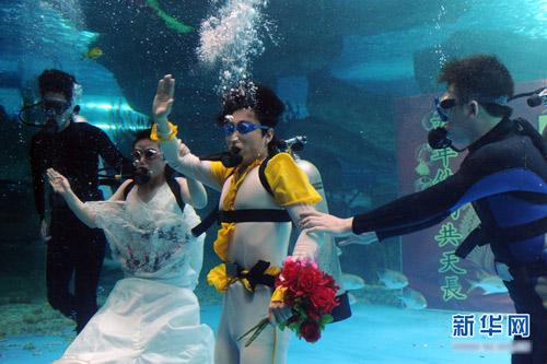 Đám cưới dưới biển siêu lãng mạn - 2