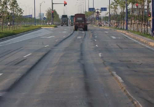 Lún nặng trên đại lộ hiện đại nhất TP.HCM - 1