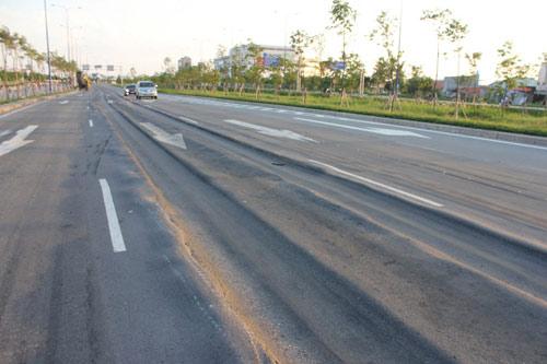 Lún nặng trên đại lộ hiện đại nhất TP.HCM - 5
