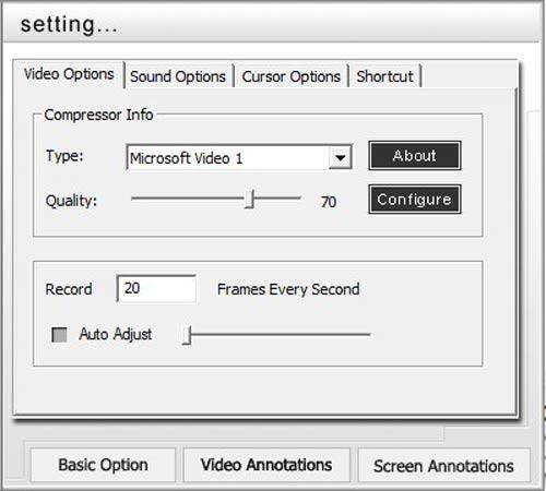 Acala Screen Recorder – Quay phim màn hình và xuất ra file EXE - 2