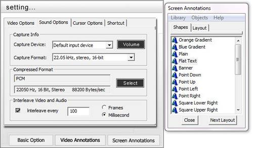 Acala Screen Recorder – Quay phim màn hình và xuất ra file EXE - 3