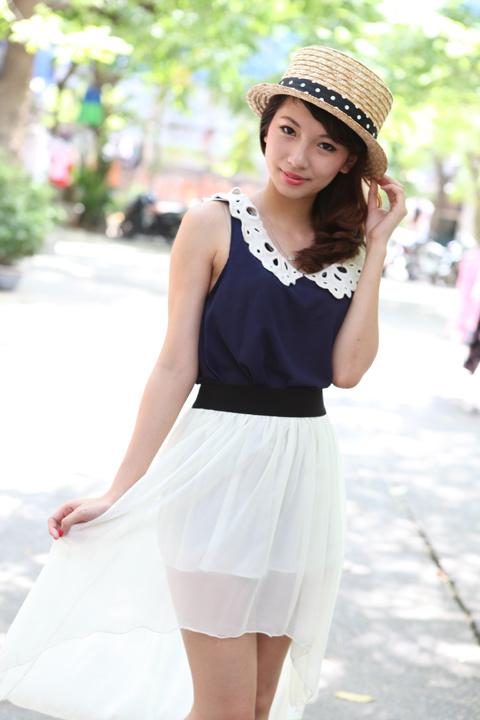 Váy mullet phủ sóng khắp phố Hà Nội - 1