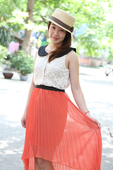 Váy mullet phủ sóng khắp phố Hà Nội - 2