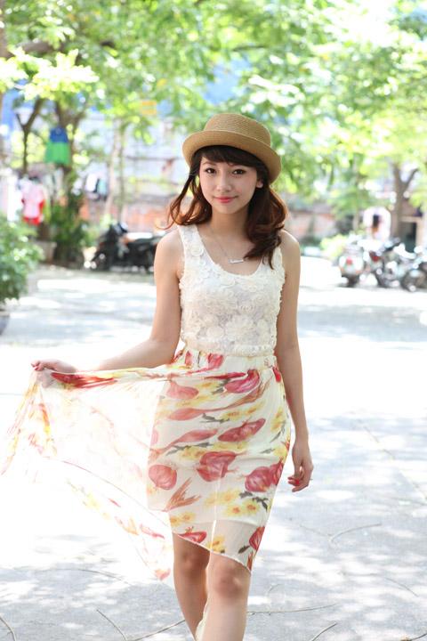 Váy mullet phủ sóng khắp phố Hà Nội - 3