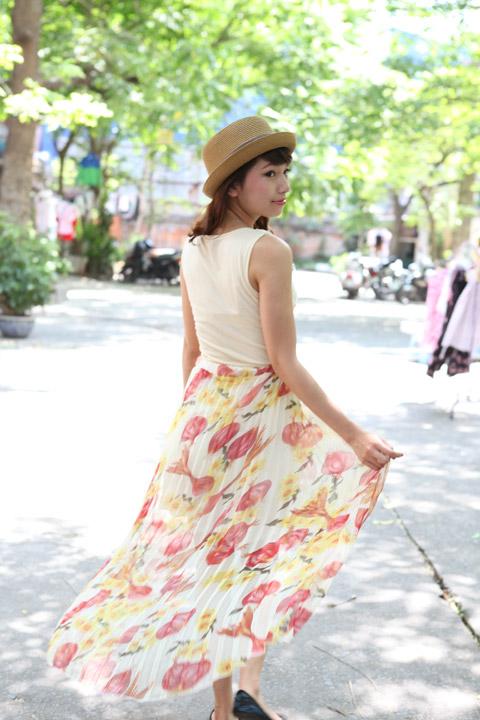 Váy mullet phủ sóng khắp phố Hà Nội - 4