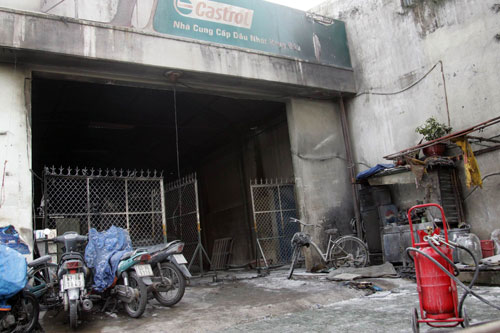 Cháy cây xăng, bé 4 tuổi thiệt mạng - 4