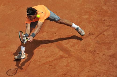 Hình ảnh đẹp về trận CK Rome Masters - 9