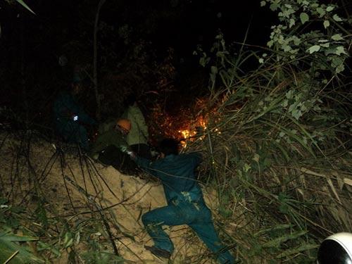 Sét đánh gây cháy rừng ở Đà Nẵng - 3