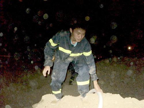 Sét đánh gây cháy rừng ở Đà Nẵng - 5