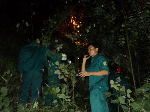 Sét đánh gây cháy rừng ở Đà Nẵng - 4