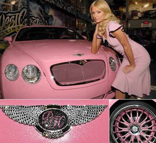 Top 12 chiếc xe màu hồng dành cho người giàu - 2