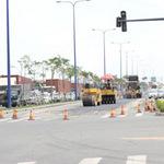 Tin tức trong ngày - Cấm đường sửa lún, Đại lộ Đông Tây kẹt cứng