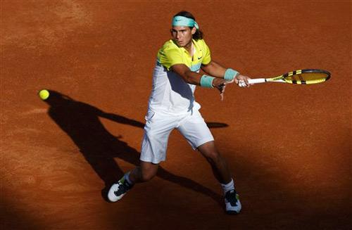 """Tennis: Nadal và """"chìa khóa"""" Topspin - 2"""